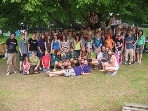Sommerlager in Essen 2010